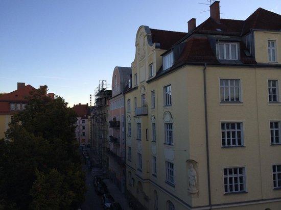 Das Nikolai Hotel: View from room 304