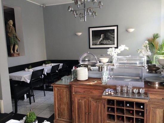 Das Nikolai Hotel: Breakfast room