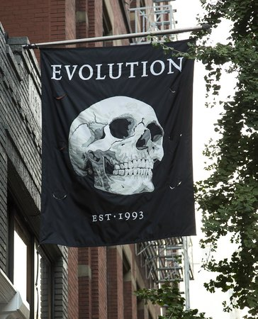 The Evolution Store: Our Famous Flag