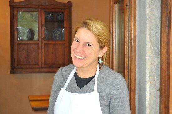 Fattoria Poggerino: Benedetta - a wonderful hostess.