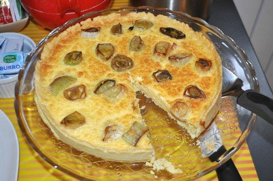 Fattoria Poggerino: Each morning includes a fresh baked item.