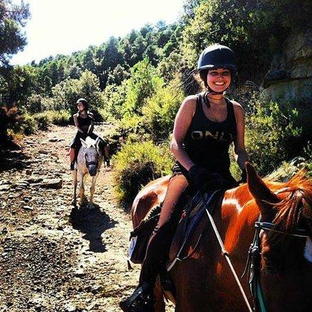 Viver, Espagne: Felicidad en ruta a caballo
