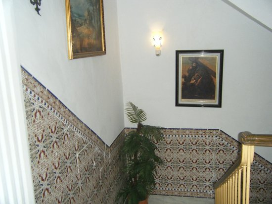 Pension San Joaquin: stairs