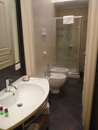 Palazzo Brunaccini : Ensuite shower room