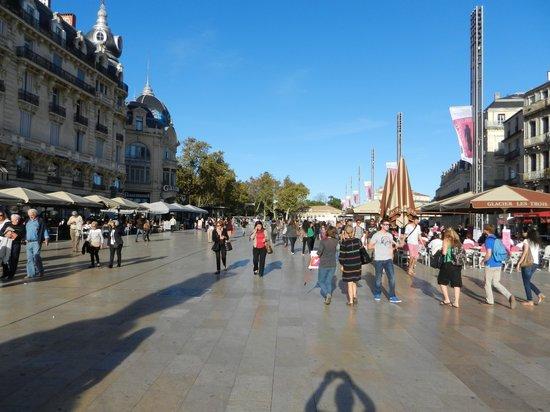 هوتل كيرياد مونبلييه سنتر: Place de la Comedie