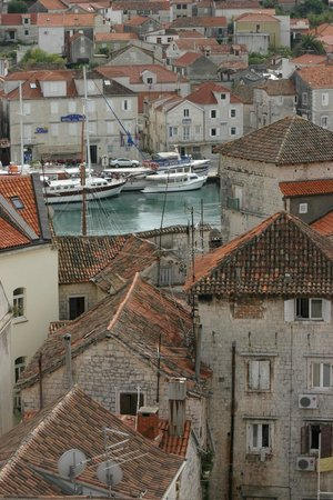 Hotel Vila Sikaa: View from top of church tower in Trogir
