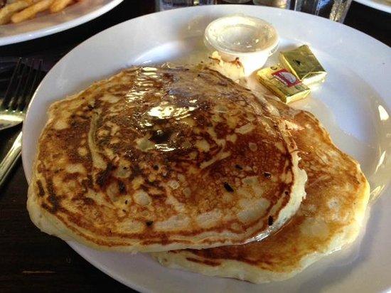 Toomey's : Coconut Mascarpone Pancakes
