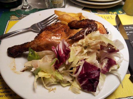 Chez Ma Cousine : Delcious lunch