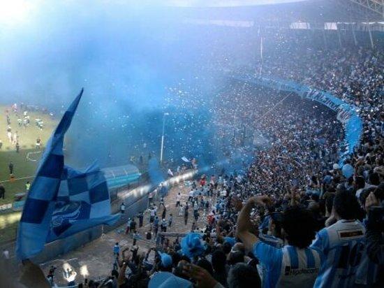 Estadio Presidente Juan Domingo Peron: Que colores!!!