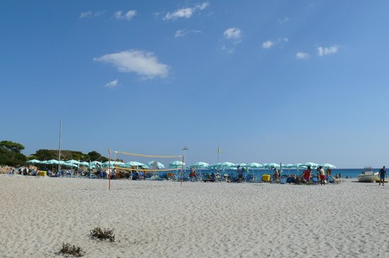 Tirreno Resort : Strand