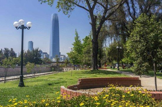 City Inn Apart Home : vista do parque uruguai, perto do hotel