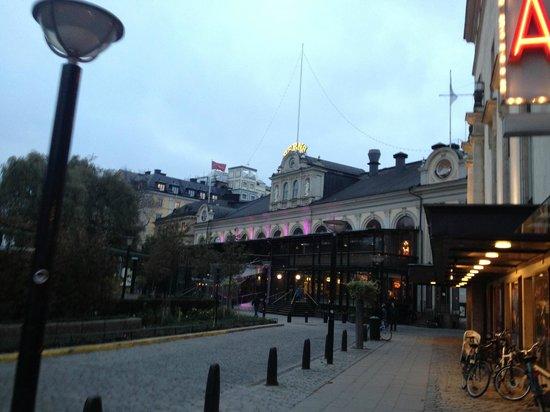 Berns Hotel: Здание отеля-ночного клуба