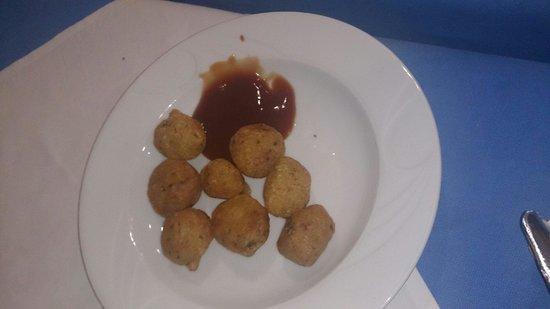 Hotel Villa de Adeje Beach: Yum! Cod balls!