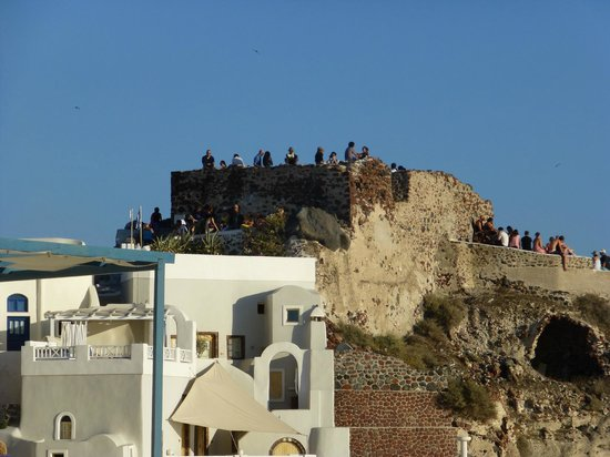 Fanari Villas: View from the restaurant