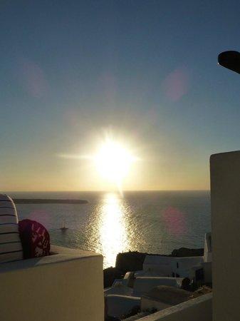 Fanari Villas: Amazing sunset