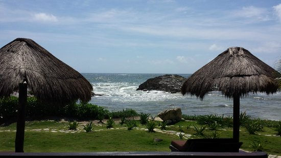 El Pez Colibri Boutique Hotel: 1st view from our Room
