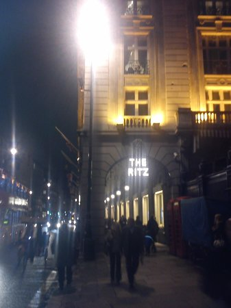 See London By Night: Start Point Piccadilly (Outside Ritz Hotel)