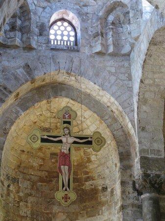 Church of San Cataldo: The altar