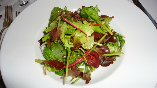 Restaurant The Verandah: salada do fondue chinoise