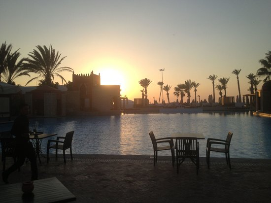 Sofitel Agadir Royal Bay Resort: Magnifique vue de mon canapé