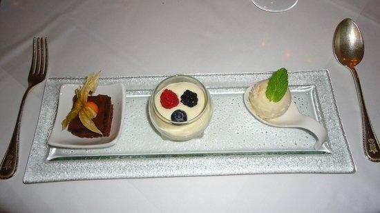 Restaurant The Verandah: sobremesa do fondue chinoise