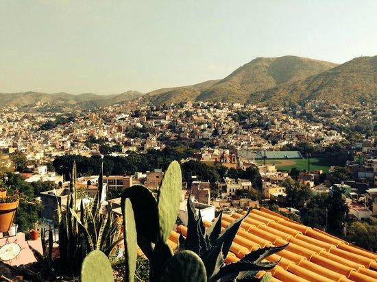 Casa de Dante Hostel: Vista panoramica desde el tercer piso