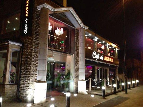 Akbar Cafe Bradford Menu