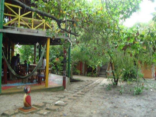 Eco Hostel Lujimba: Fachada