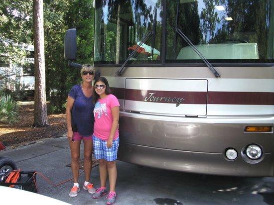 The Campsites at Disney's Fort Wilderness Resort: Campsite 7/13