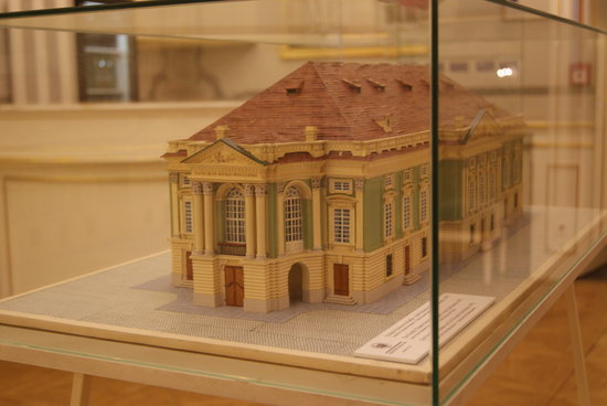 The Estates Theatre: Maqueta exposición interior del teatro