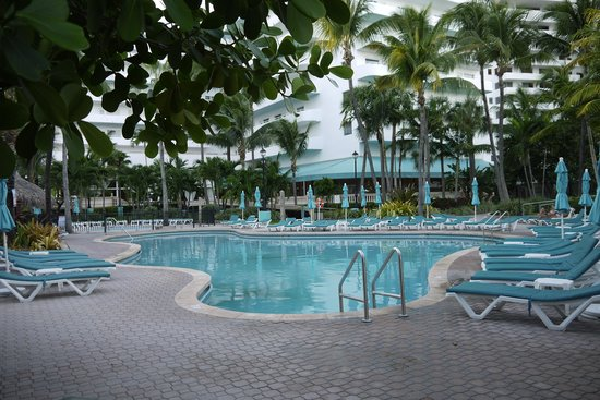 Hotel Riu Plaza Miami Beach : Hotels pool area