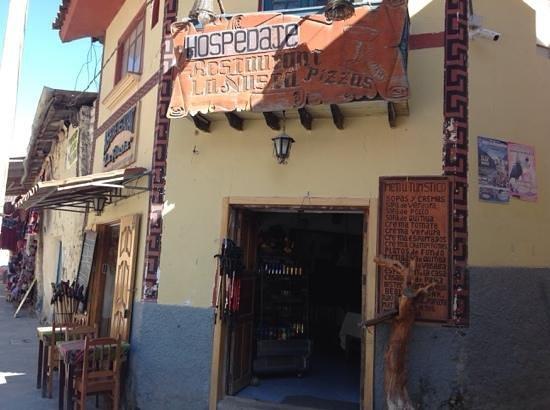 La Nusta Restaurant, Ollantaytambo, Peru