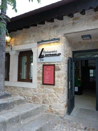 Miranda del Castañar, España: REstaurante Las Petronilas