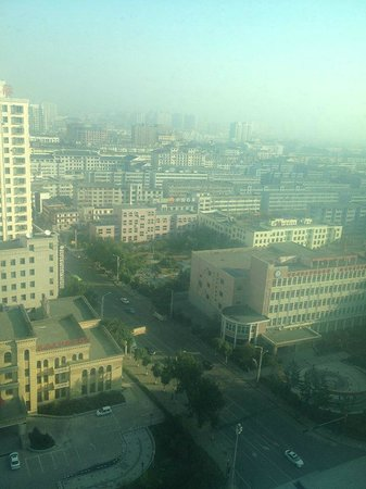 Yanbian International Hotel : views form the 20th floor