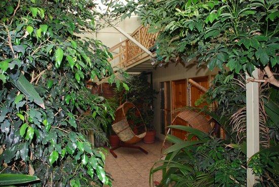 Hotel Aranjuez : One of the many courtyards at Aranjuez