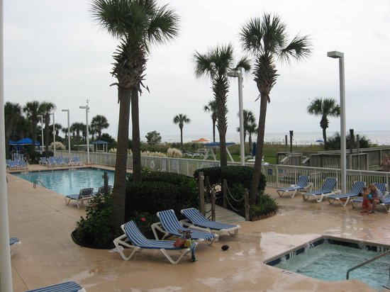 Dunes Village Resort: View from Room 117