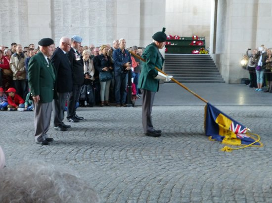 The Menin Gate : Nightly Memorial Service