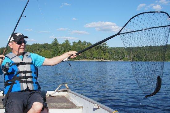 White Birches Cottage Resort: good fishing