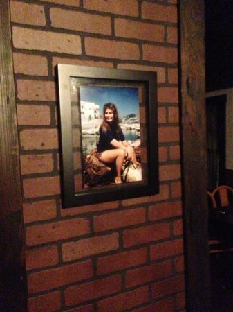 Antonio's Made in Italy: Sophia Loren graces one of our walls as she is also from Chef Antonio's birthplace.