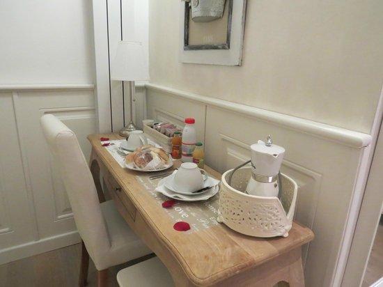 Alba sul Vaticano: Café da manhã no quarto *pedido especial feito por nós