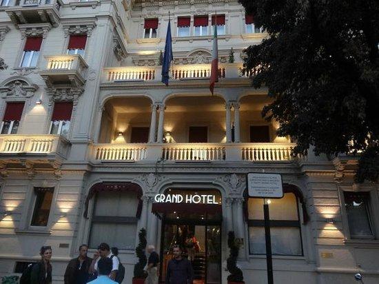 Grand Hotel Des Arts : A fachada externa