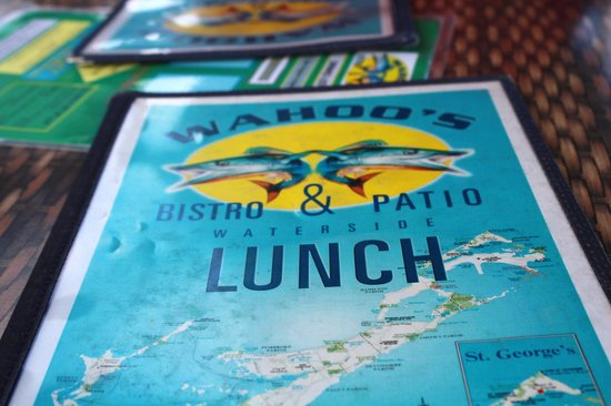 Wahoo's Waterside Bistro & Patio : went here right after spending some time on the beach for lunch