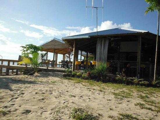 Savaii Lagoon Resort: Resort dining