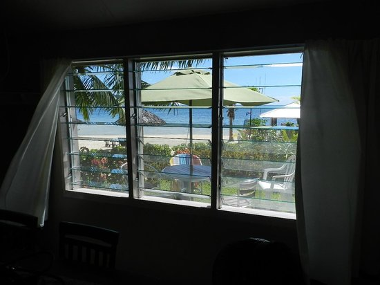 Savaii Lagoon Resort: View from the dining table