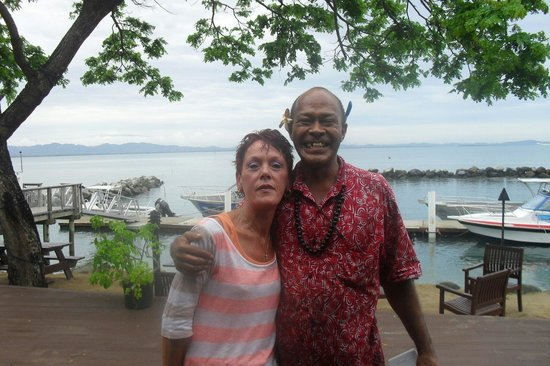 Anchorage Beach Resort: We all love Clive at anchorage beach xx
