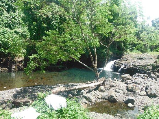 Afu Aau Waterfall: Small pool below the main one