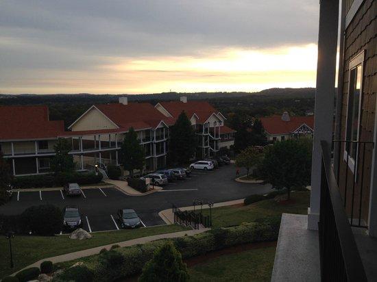 Wyndham Mountain Vista : Morning view from 6832