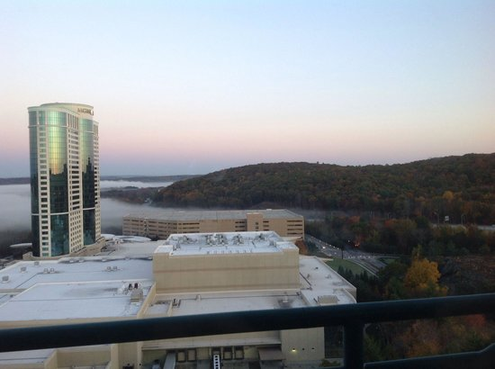 Grand Pequot Tower: View from Pequot, 19th floor