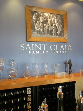 Saint Clair Family Estate Vineyard Kitchen : Inside the winery