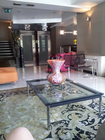 The Athenian Callirhoe Exclusive Hotel: The Foyer